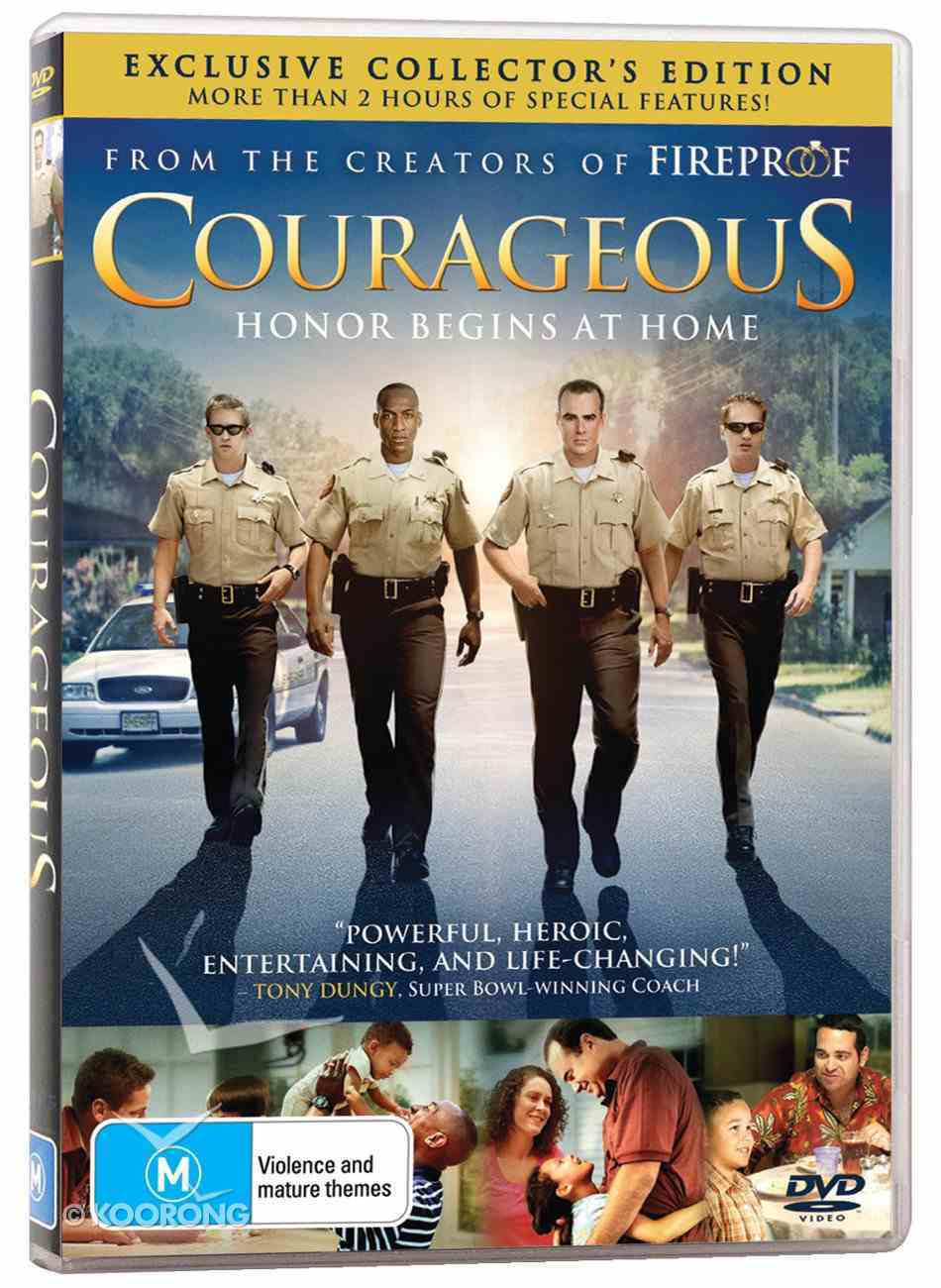 Courageous (Collector's Edition) (Courageous Series) DVD