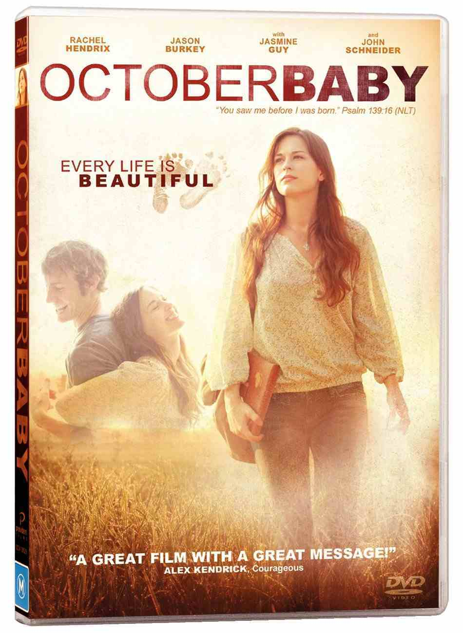 October Baby DVD