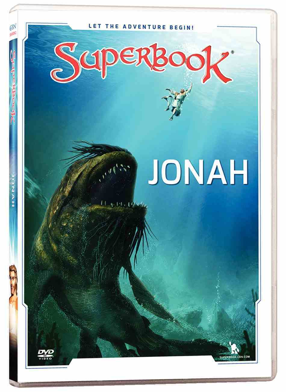 Jonah (#01 in Superbook Dvd Series Season 02) DVD
