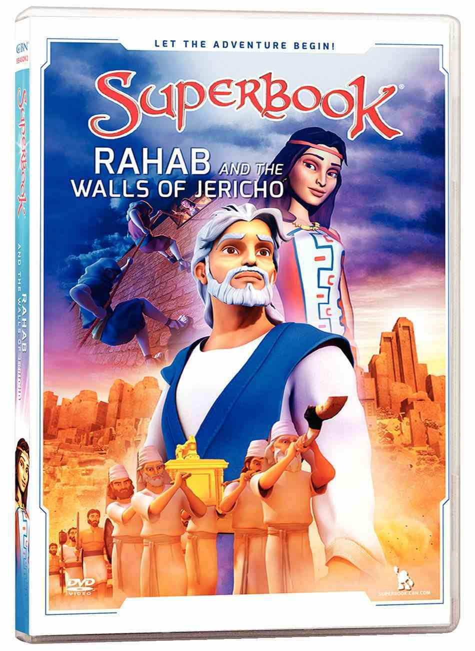 Rahab and the Walls of Jericho (#04 in Superbook Dvd Series Season 02) DVD