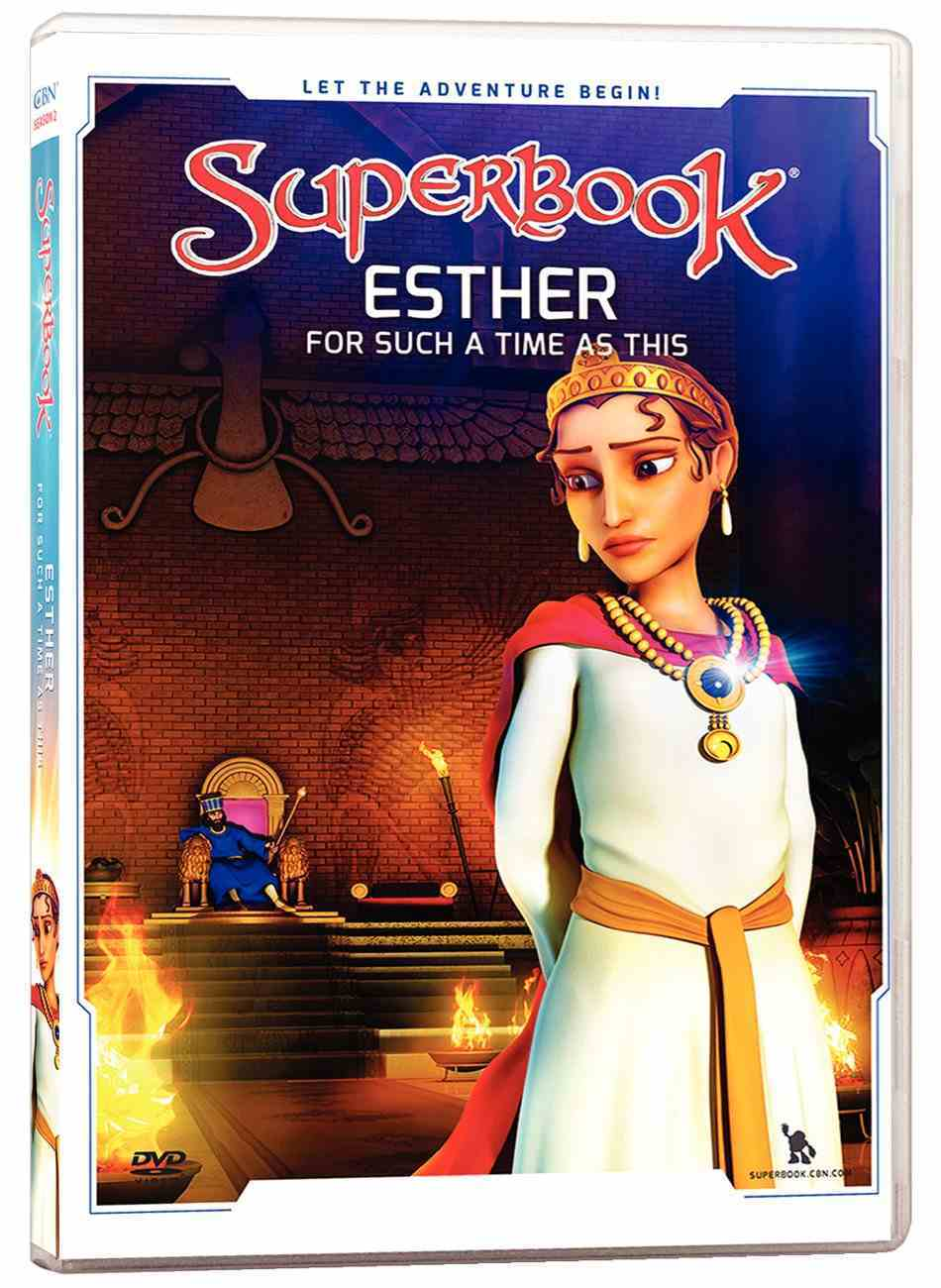 Esther: For Such a Time as This (#05 in Superbook Dvd Series Season 02) DVD