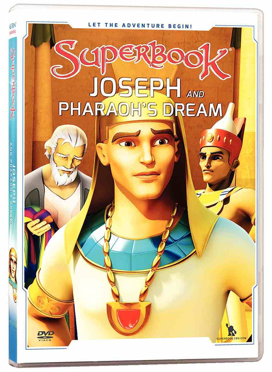 Joseph and Pharoah's Dream (#02 in Superbook Dvd Series Season 02) DVD