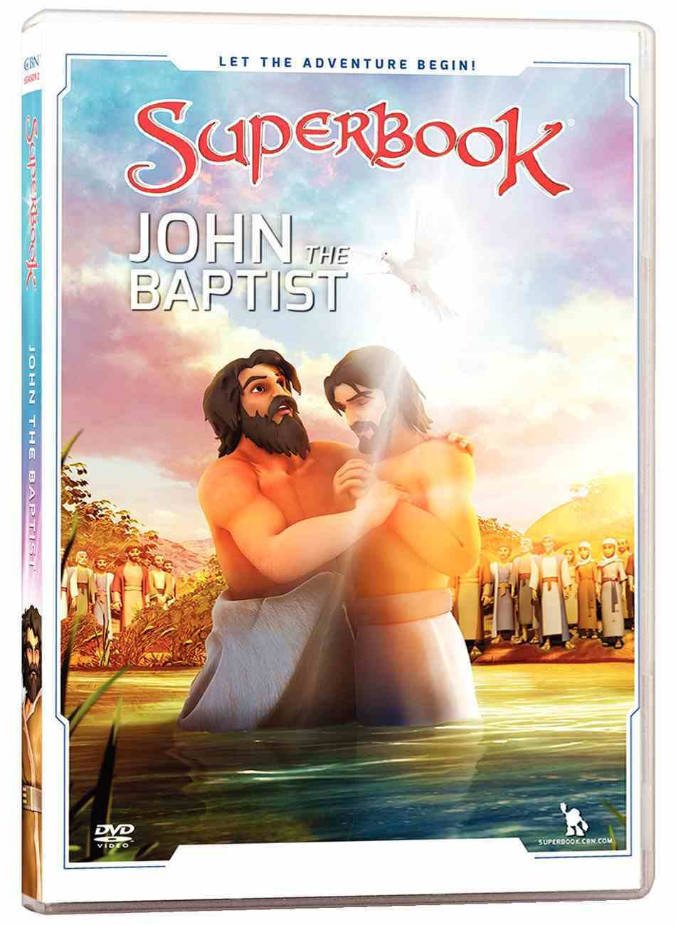 John the Baptist (#06 in Superbook Dvd Series Season 02) DVD