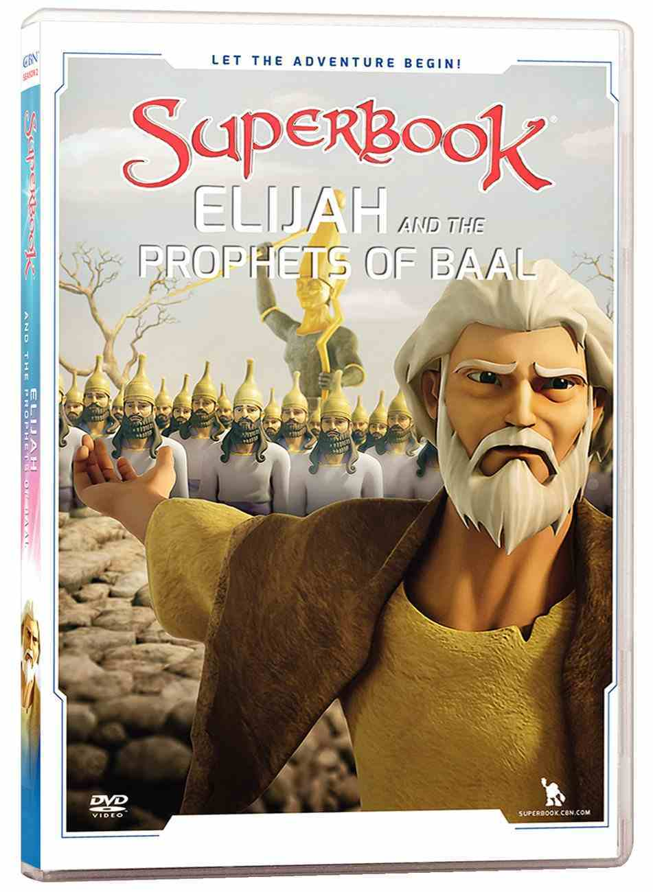 Elijah and the Prophets of Baal (#13 in Superbook Dvd Series Season 02) DVD