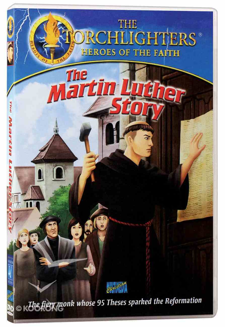 The Martin Luther Story (Torchlighters Heroes Of The Faith Series) DVD