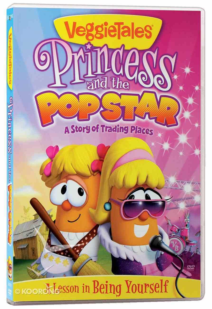 Veggie Tales #42: Princess and the Popstar (#042 in Veggie Tales Visual Series (Veggietales)) DVD