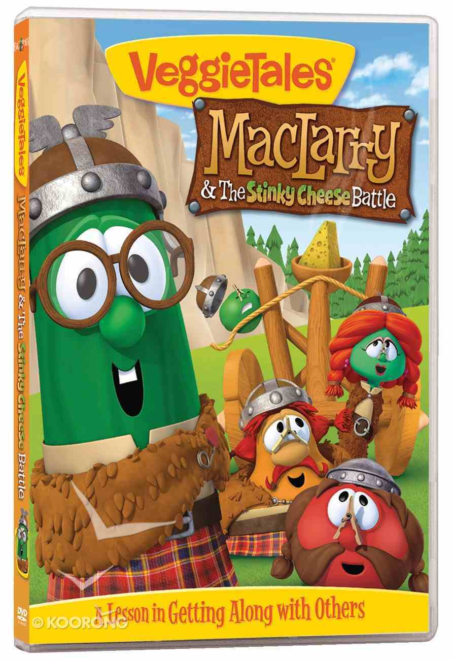 Veggie Tales #53: Maclarry and the Stinky Cheese Battle (#53 in Veggie Tales Visual Series (Veggietales)) DVD