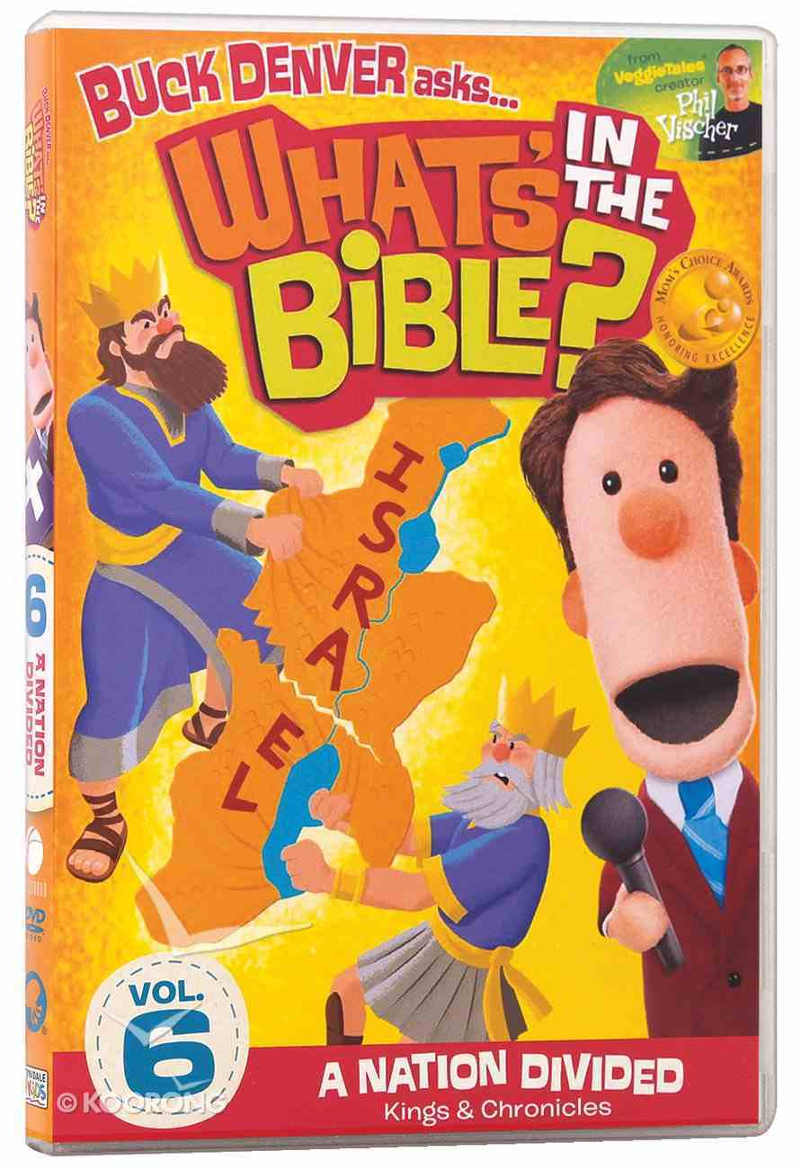 A Nation Divided (#06 in What's In The Bible Series) DVD