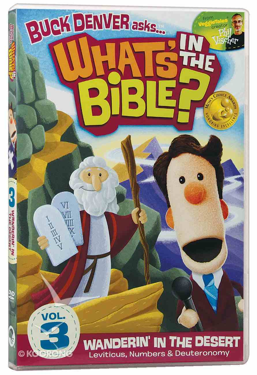 Wanderin' in the Desert (2011) (#03 in What's In The Bible Series) DVD