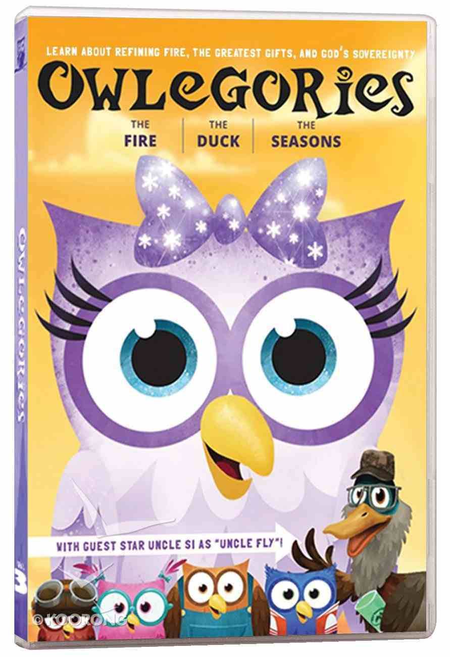 Owlegories #03: The Fire/The Duck/The Seasons DVD