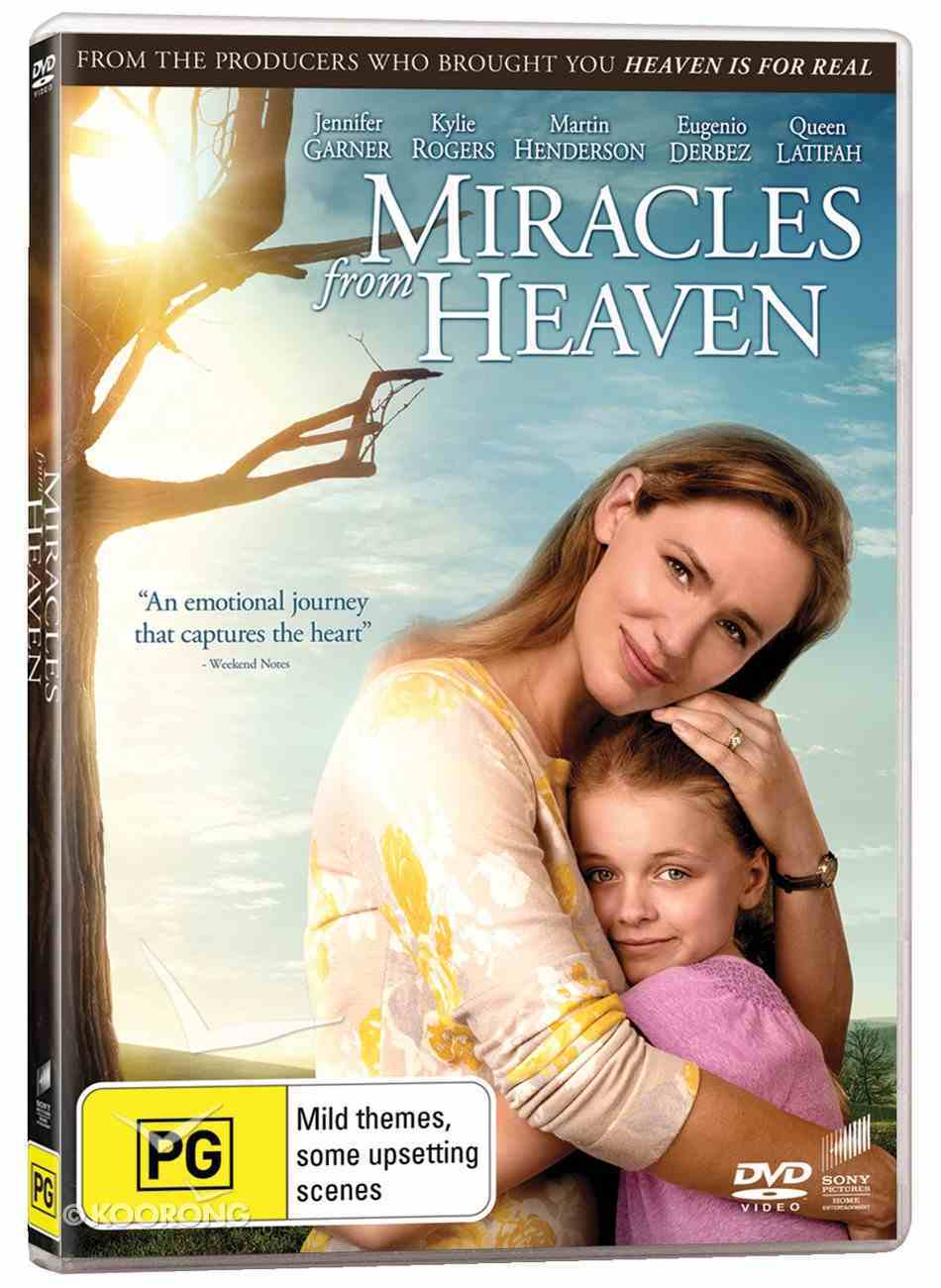 Miracles From Heaven Movie DVD