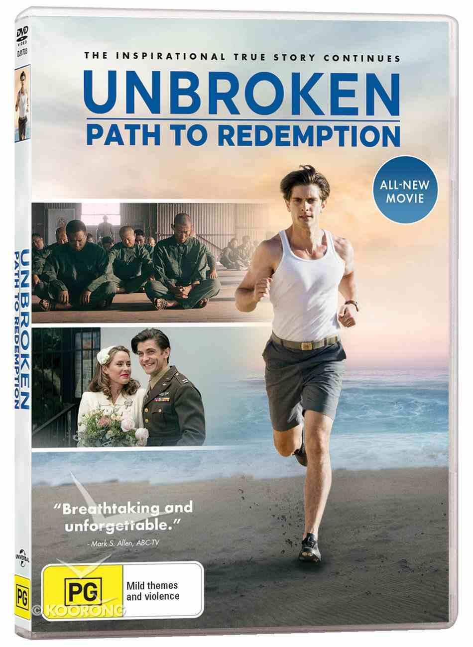 Unbroken: Path to Redemption DVD