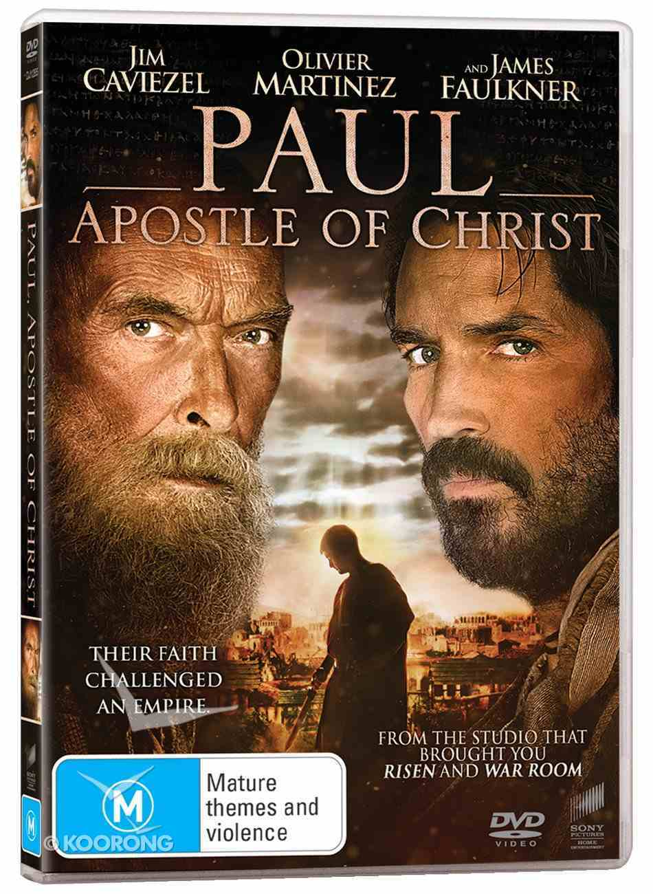 Paul, Apostle of Christ Movie DVD