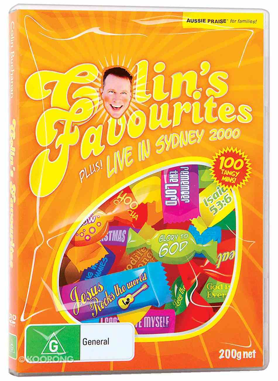 Colin's Favourites DVD