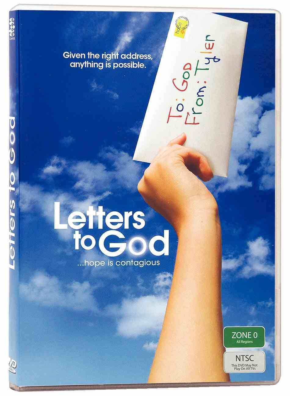 Letters to God DVD