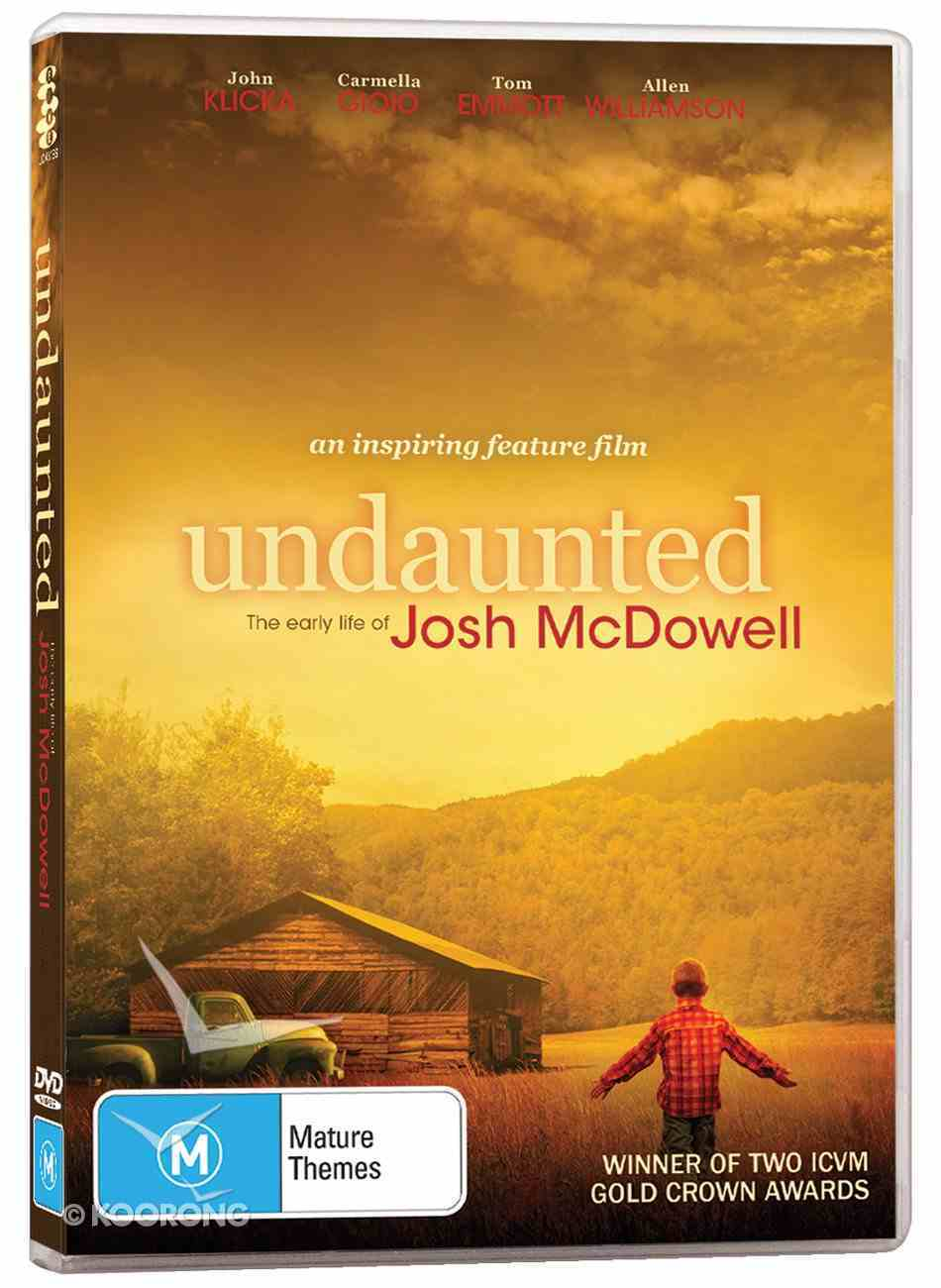 Undaunted: The Early Life of Josh Mcdowell DVD
