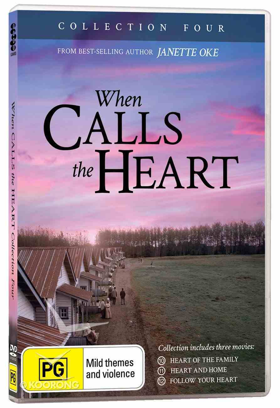 When Calls the Heart Collection #04 (3 Dvds) DVD