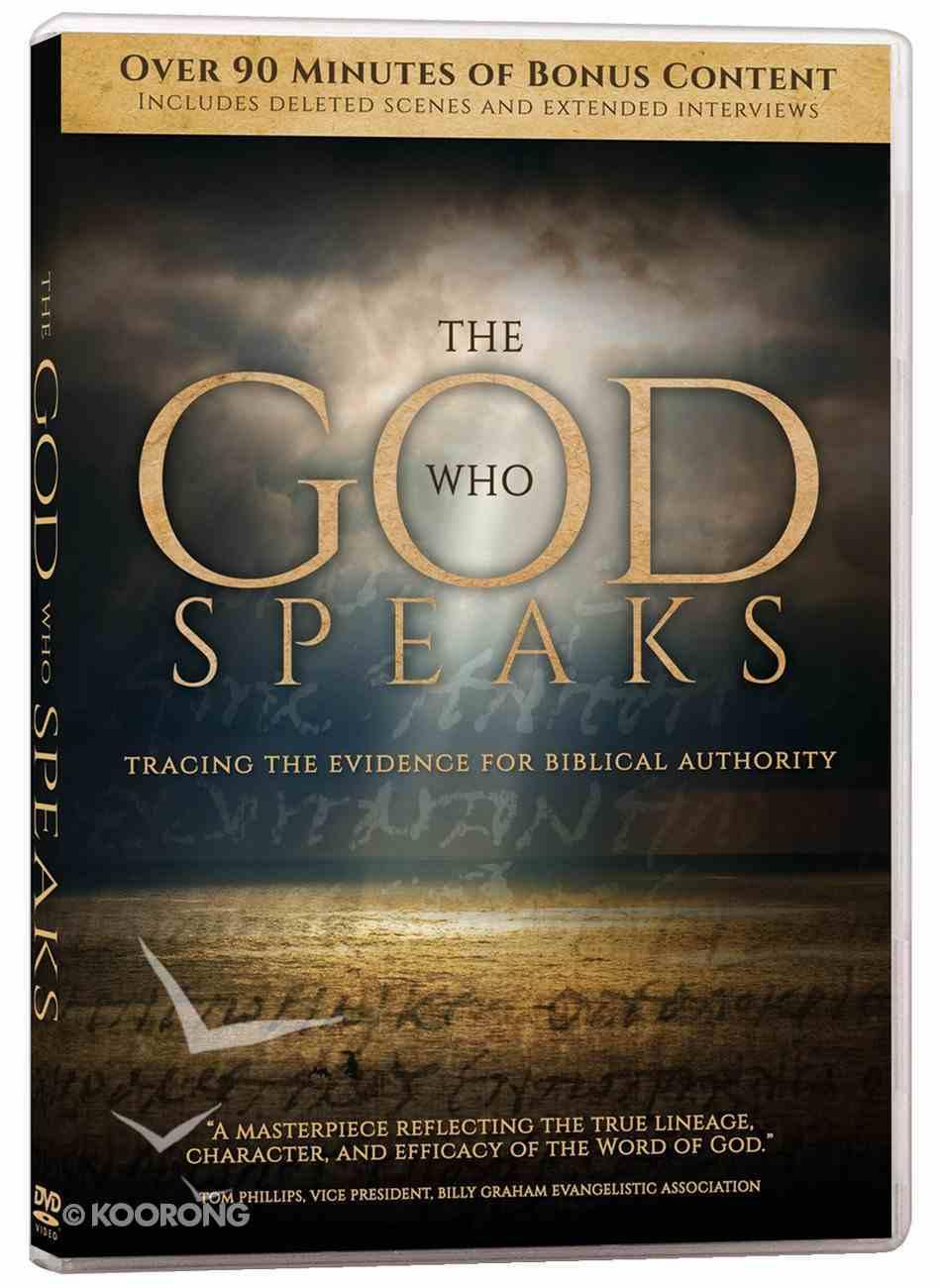 The God Who Speaks (2 Dvds) DVD