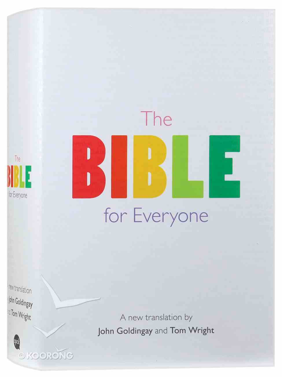 The Bible For Everyone: A New Translation Hardback
