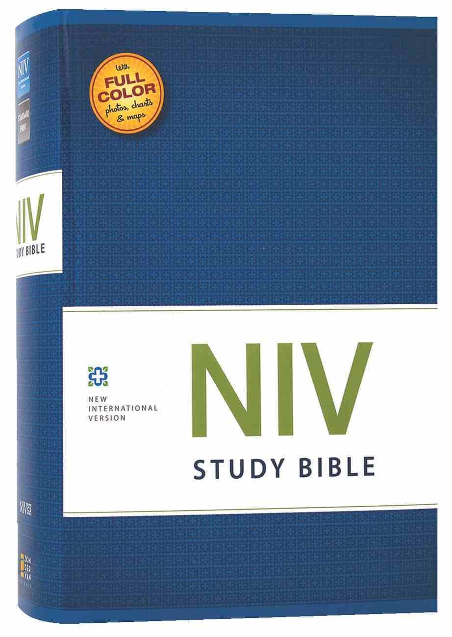 NIV Study Bible Regular (Red Letter Edition) Hardback