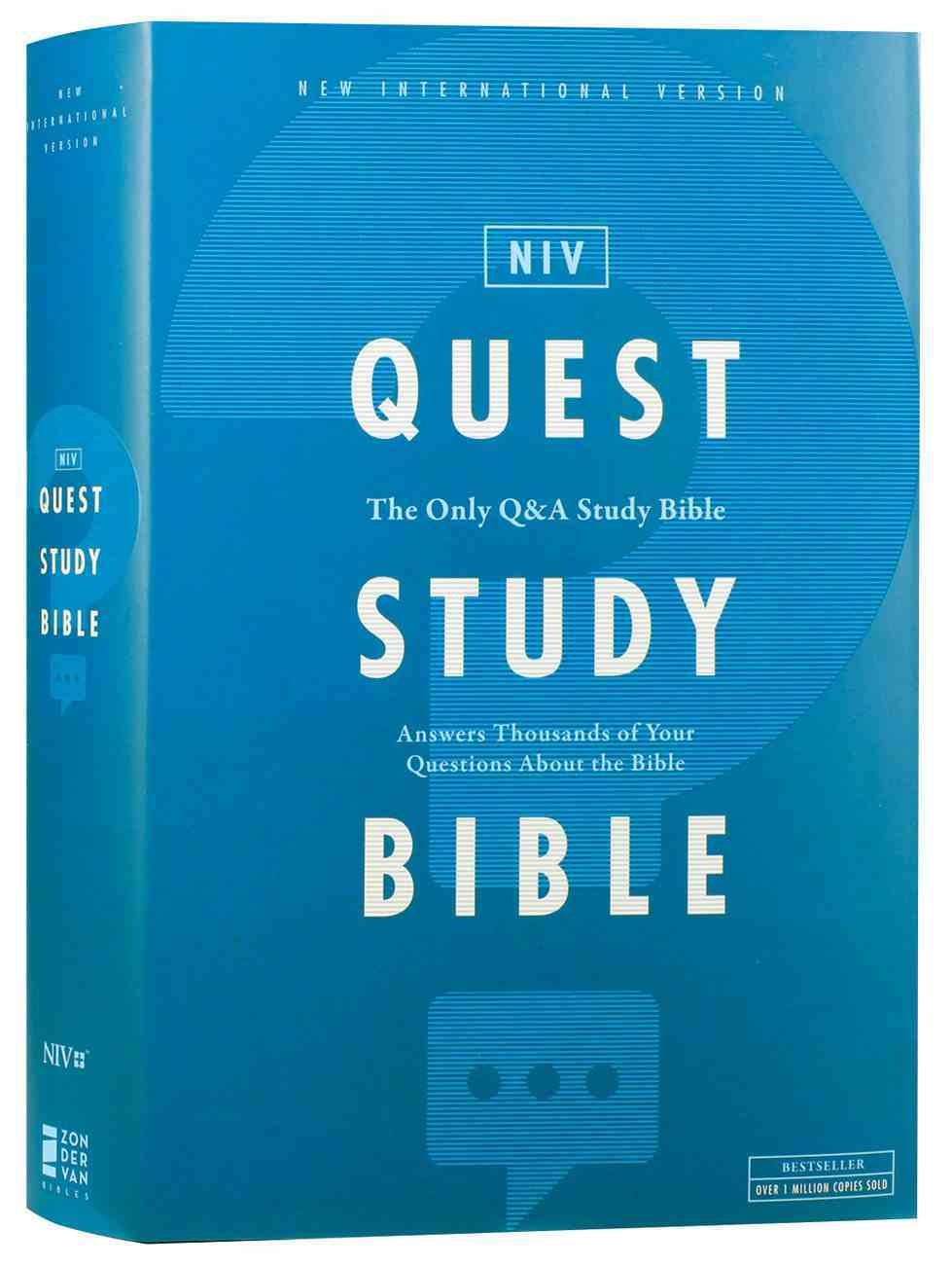 NIV Quest Study Bible (The Only Q And A Study Bible) Hardback