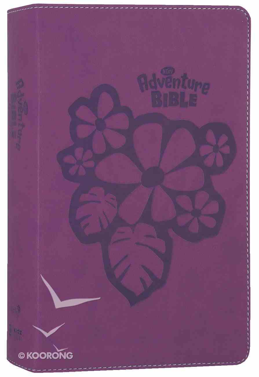 NIRV Adventure Bible For Early Readers Tropical Purple (Black Letter Edition) Premium Imitation Leather
