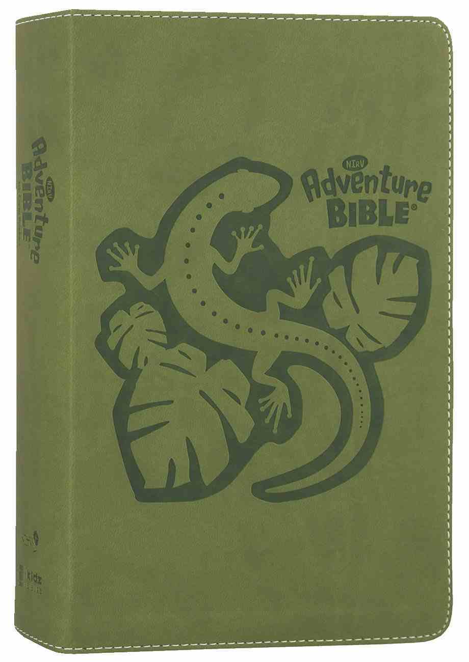 NIRV Adventure Bible For Early Readers Jungle Green (Black Letter Edition) Premium Imitation Leather