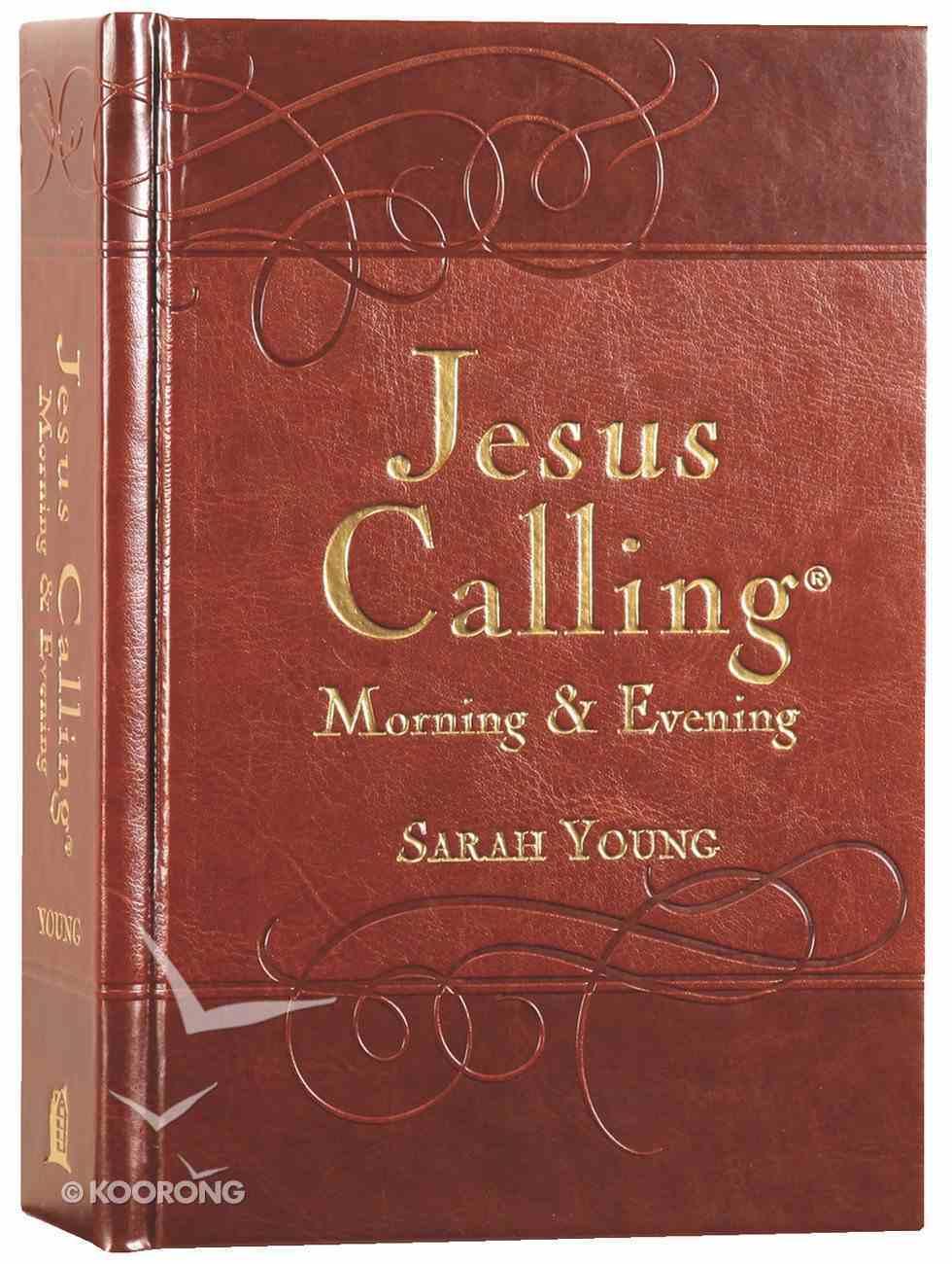 Jesus Calling Morning and Evening Devotional Hardback