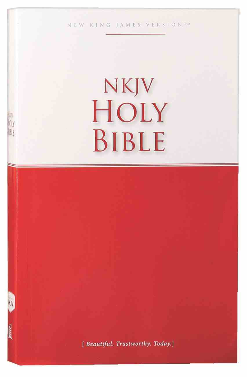 NKJV Economy Outreach Bible (Black Letter Edition) Paperback