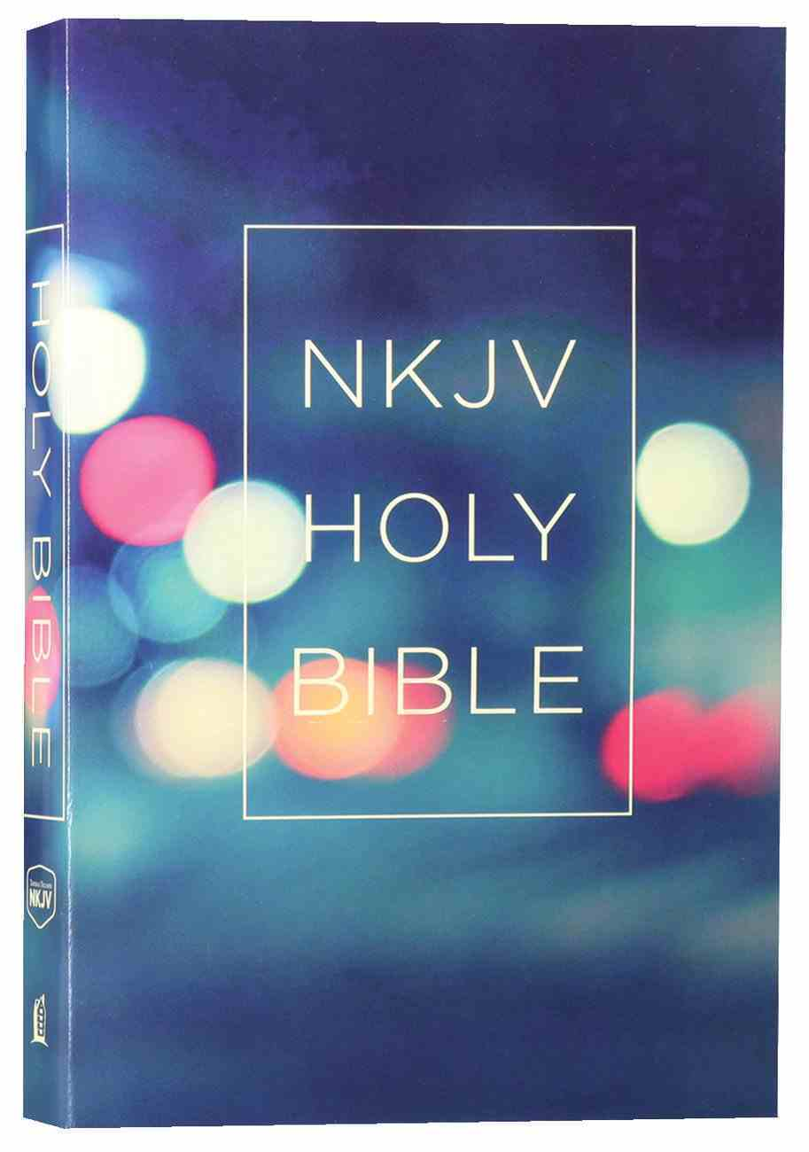 NKJV Value Outreach Bible Urban Lights Scenic Paperback