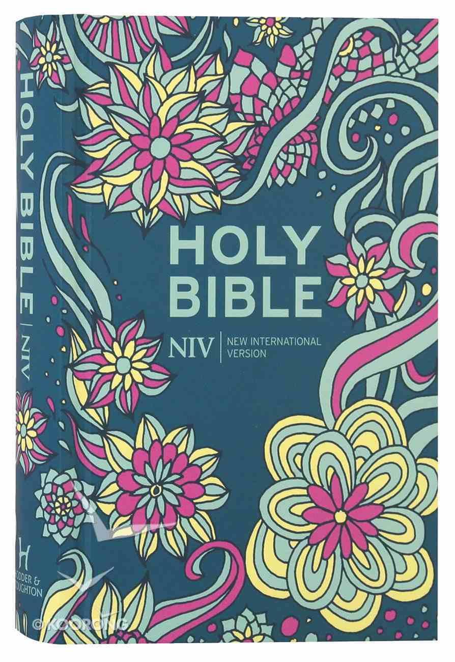 NIV Pocket Floral Bible Hardback
