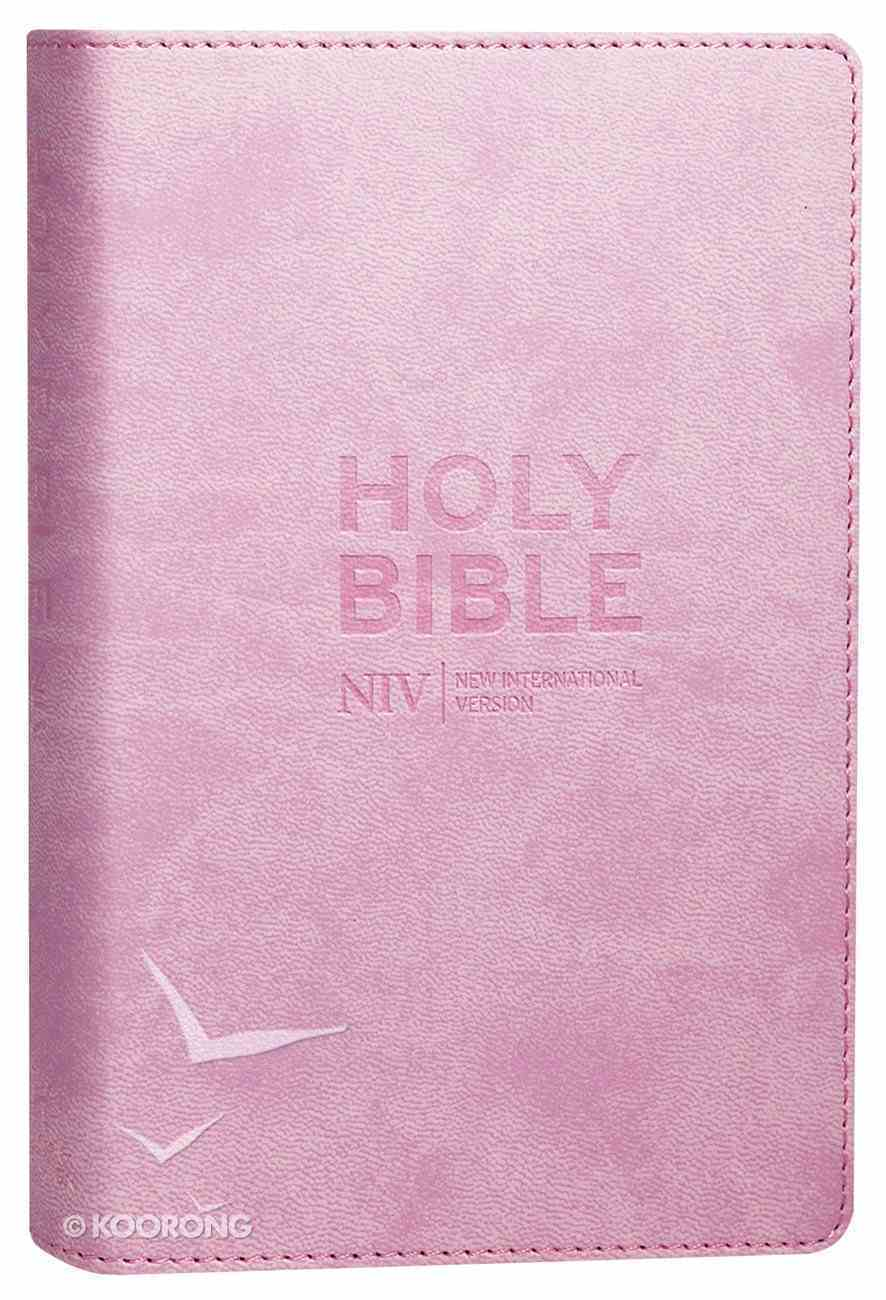 NIV Pocket Pastel Pink Bible Soft-Tone Imitation Leather