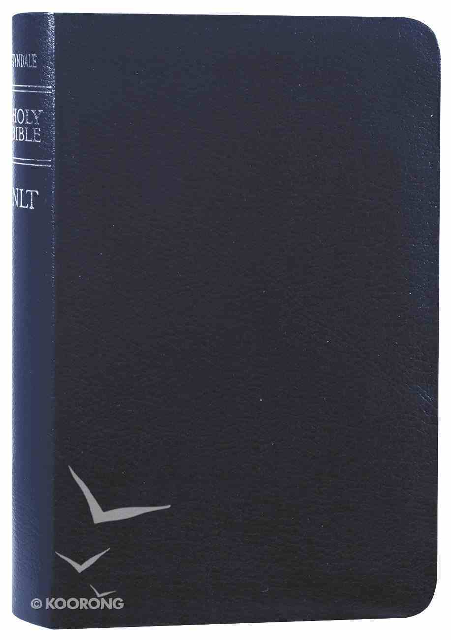 NLT Compact Gift Bible Navy (Black Letter Edition) Bonded Leather
