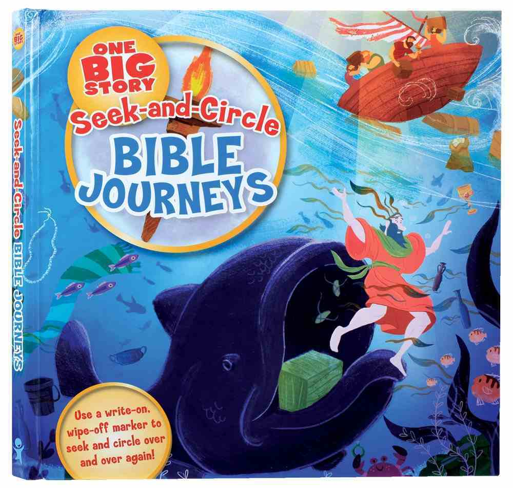 Bible Journeys (Ages 4-8) (Seek-and-circle Series) Board Book