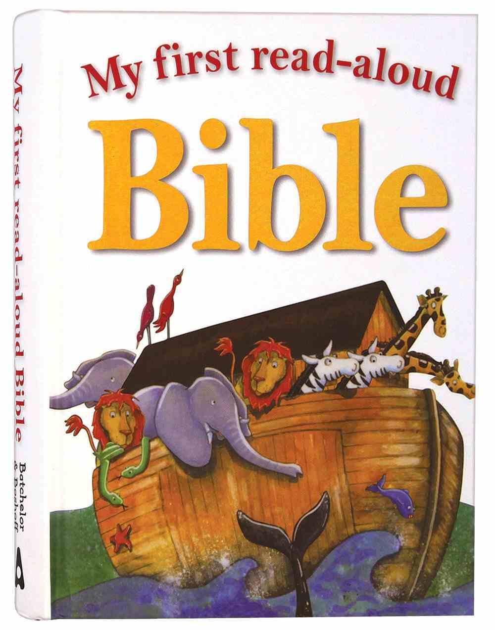 My First Read Aloud Bible Hardback