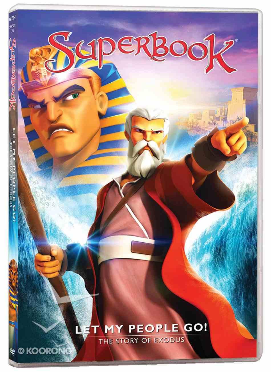 Let My People Go! - the Story of Exodus (#06 in Superbook Dvd Series Season 01) DVD
