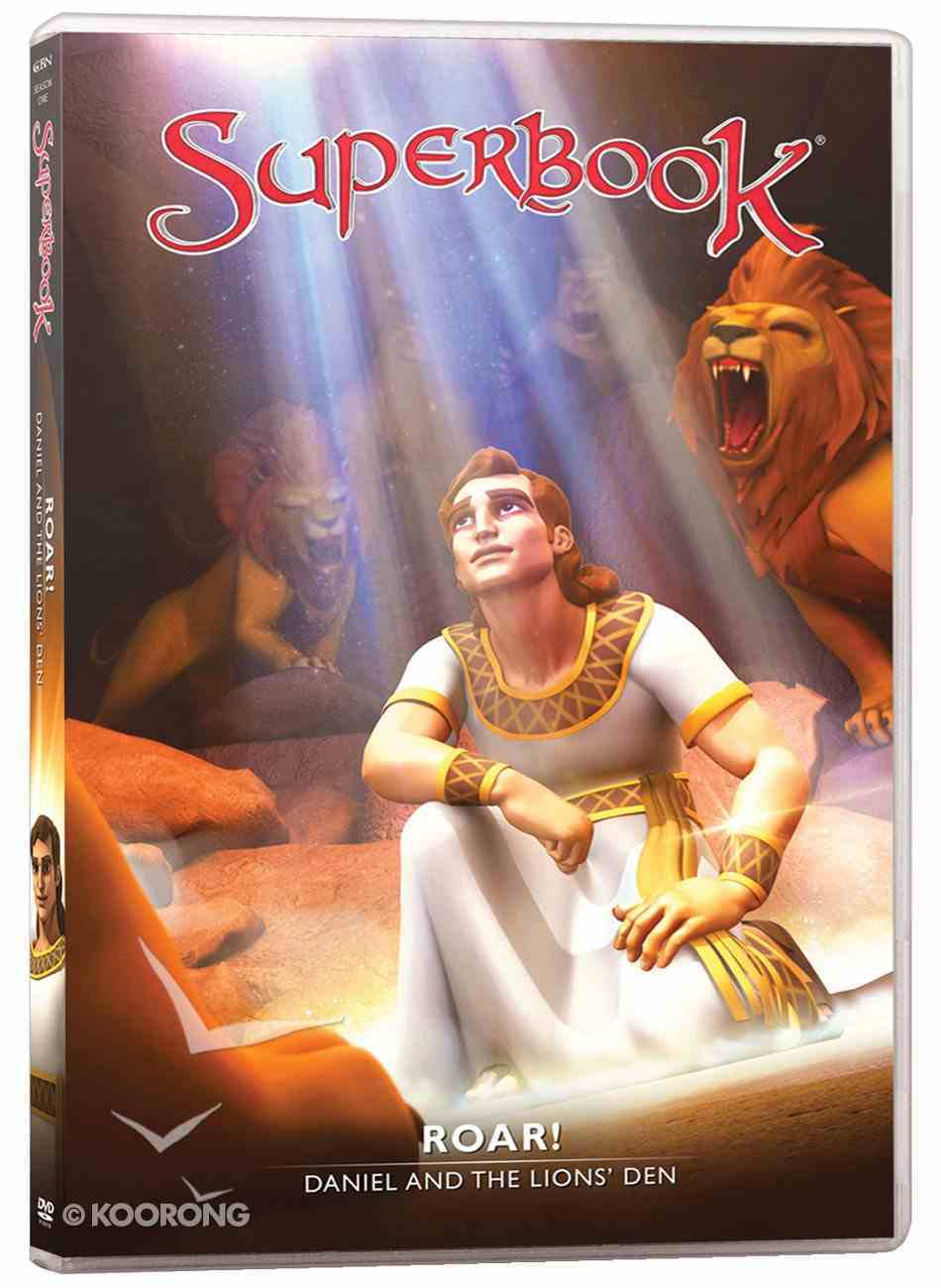 Roar! - Daniel and the Lion's Den (#08 in Superbook Dvd Series Season 01) DVD
