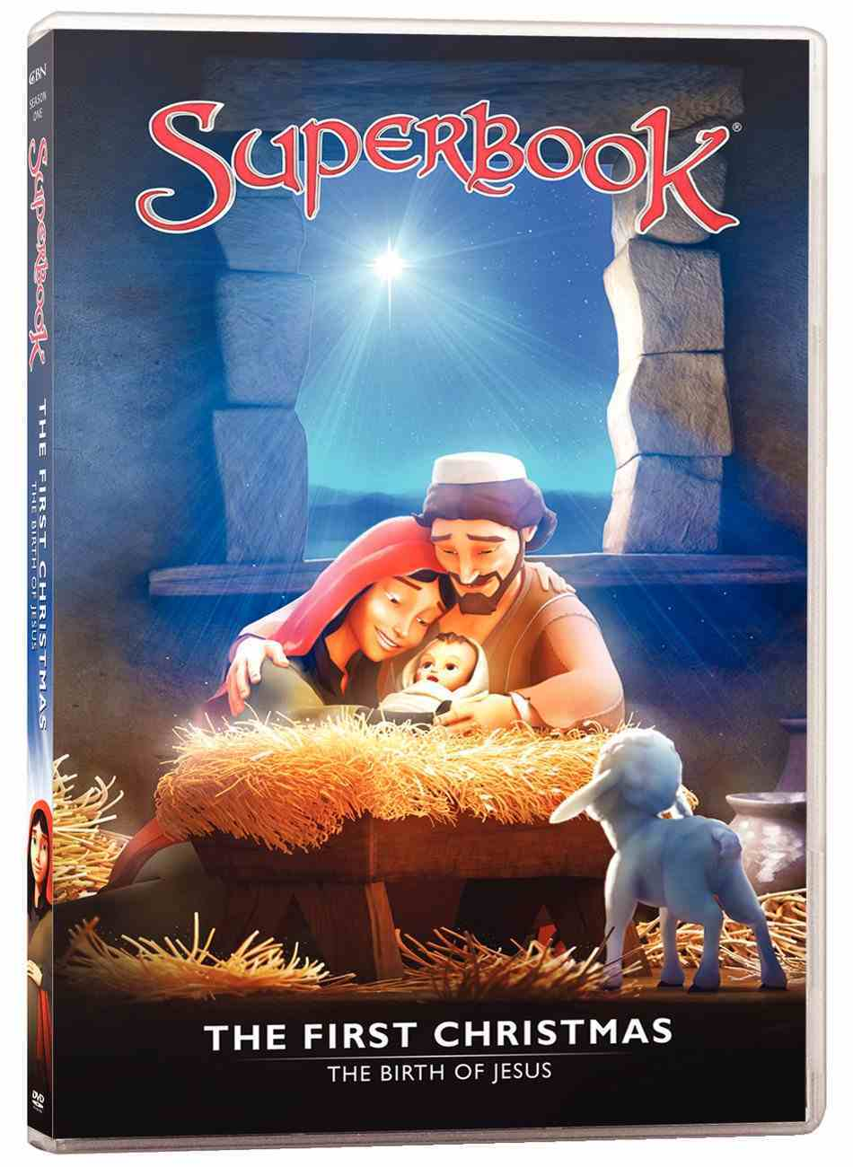 First Christmas, the - the Birth of Jesus (#01 in Superbook Dvd Series Season 01) DVD