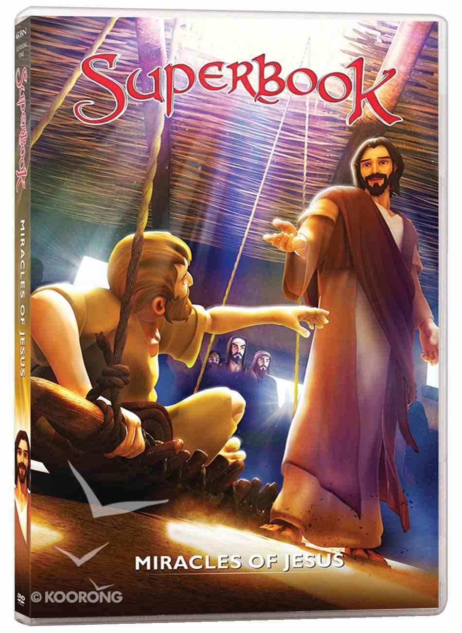 Miracles of Jesus, the - True Miracles Come Only From God (#09 in Superbook Dvd Series Season 01) DVD