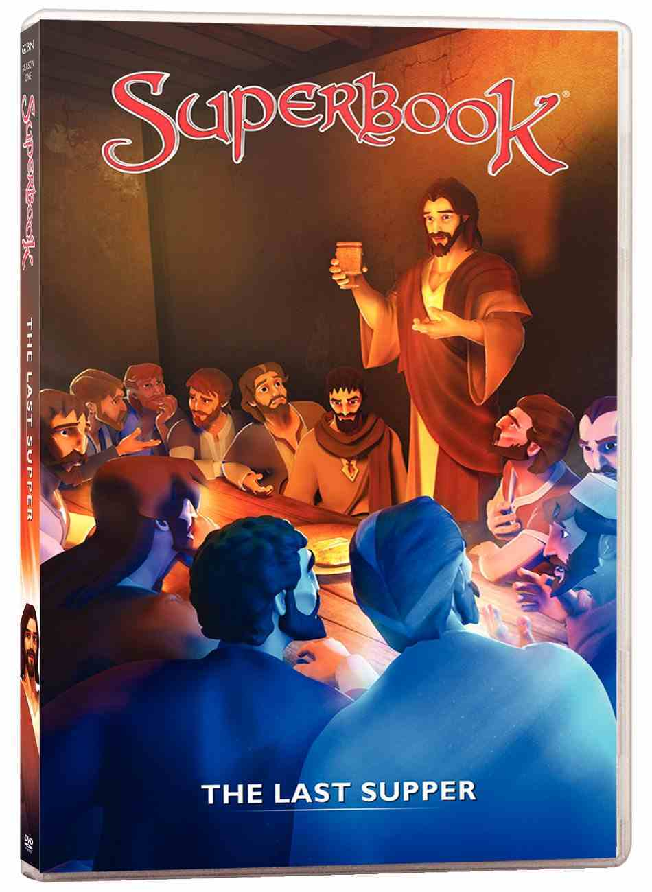 Last Supper, the - the King of Kings Becomes the Servant of All (#10 in Superbook Dvd Series Season 01) DVD