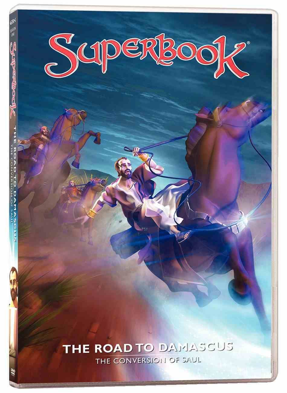 Road to Damascus, the - the Conversion of Paul (#12 in Superbook Dvd Series Season 01) DVD