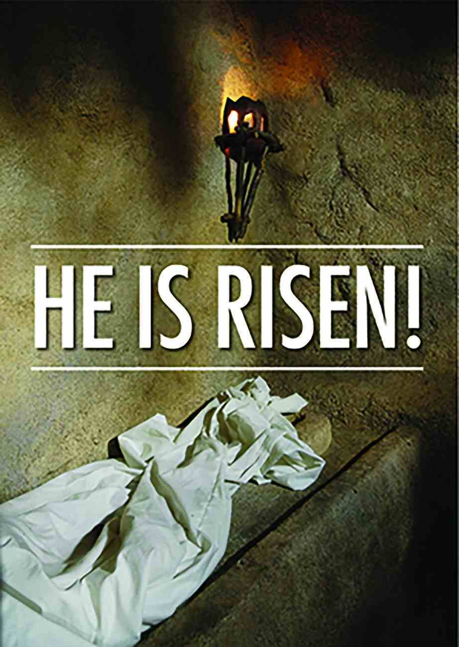 He is Risen (50 Pack) Booklet