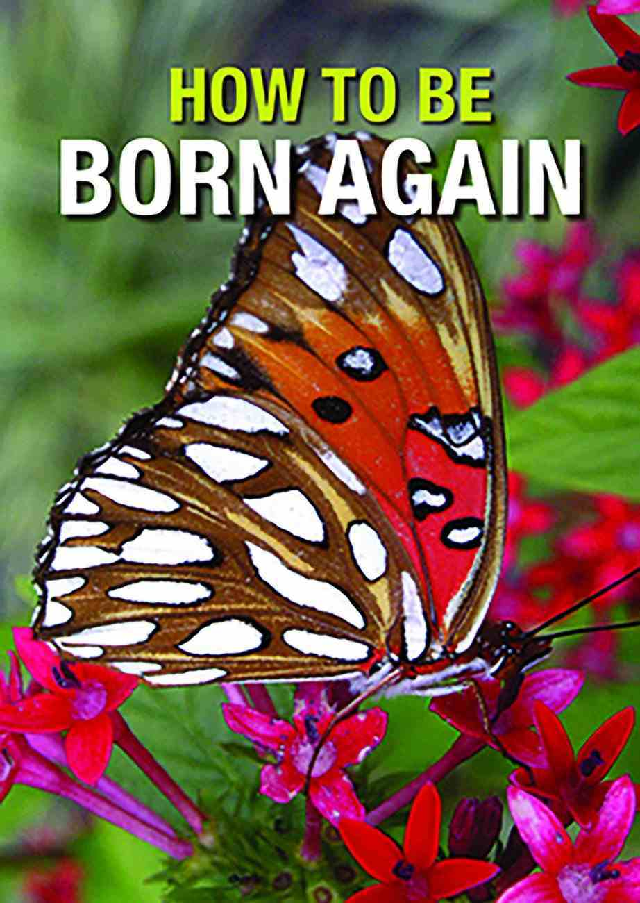 How to Be Born Again (50 Apck) Booklet