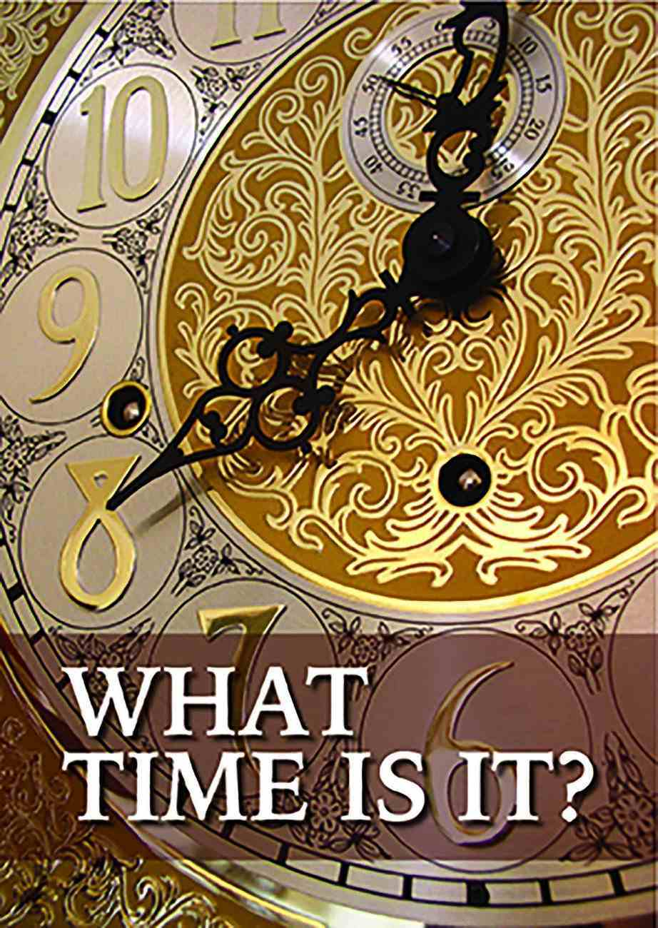 What Time is It? (50 Pack) Booklet