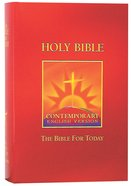 CEV Bible For Today Burgundy Hardback