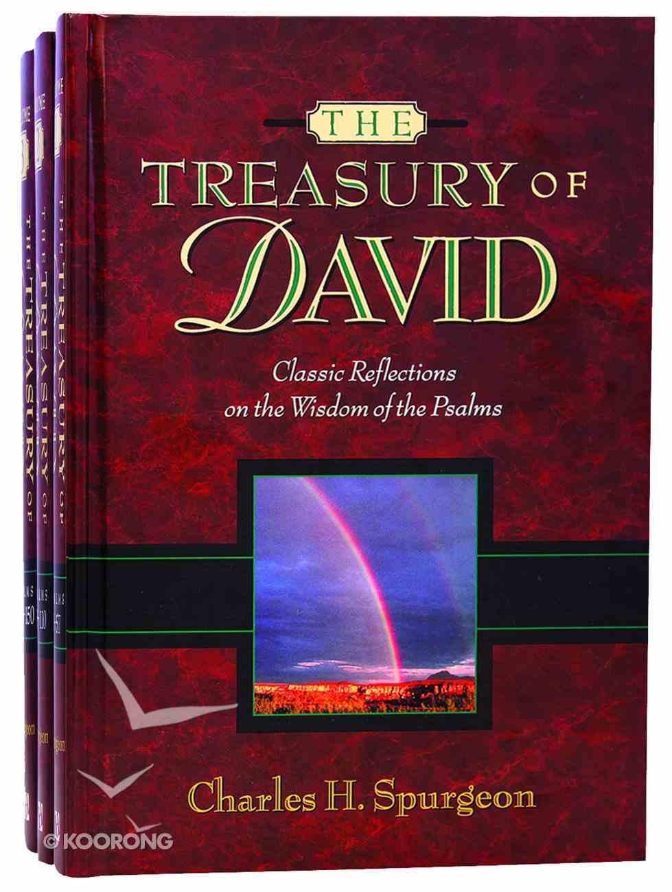Treasury of David (3 Vol Set) Pack
