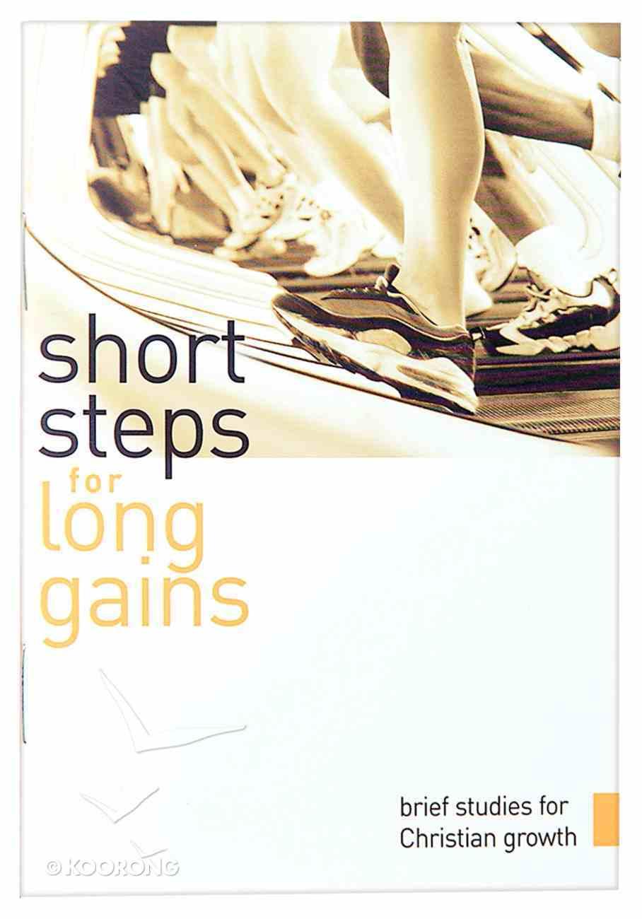 Short Steps For Long Gains Paperback