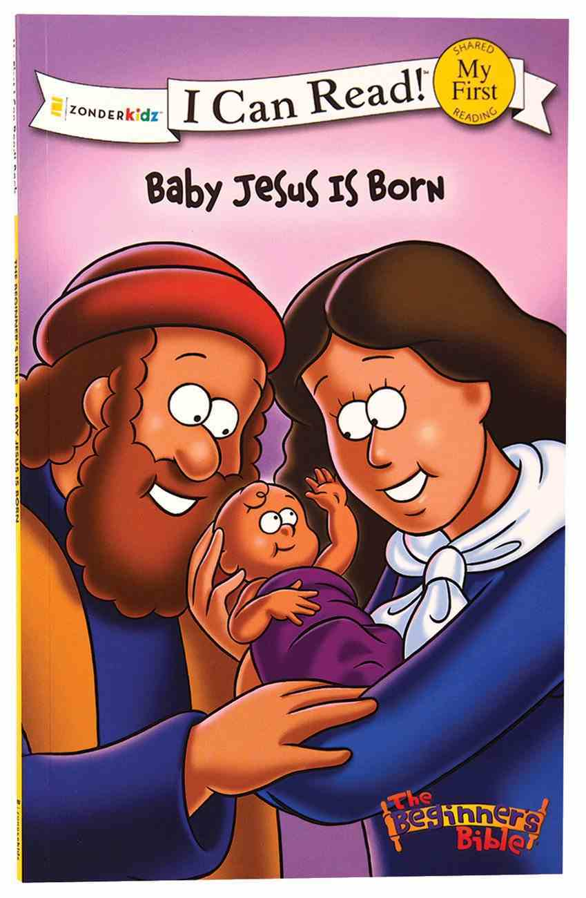 Baby Jesus is Born (My First I Can Read/beginner's Bible Series) Paperback