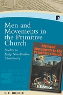 Men And Movements In The Primitive Church image