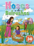 Bible Story Sticker Book For Children: Moses In The Bulrushes image